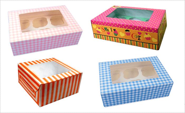 Printed Muffin Boxes (Muffin Boxes)