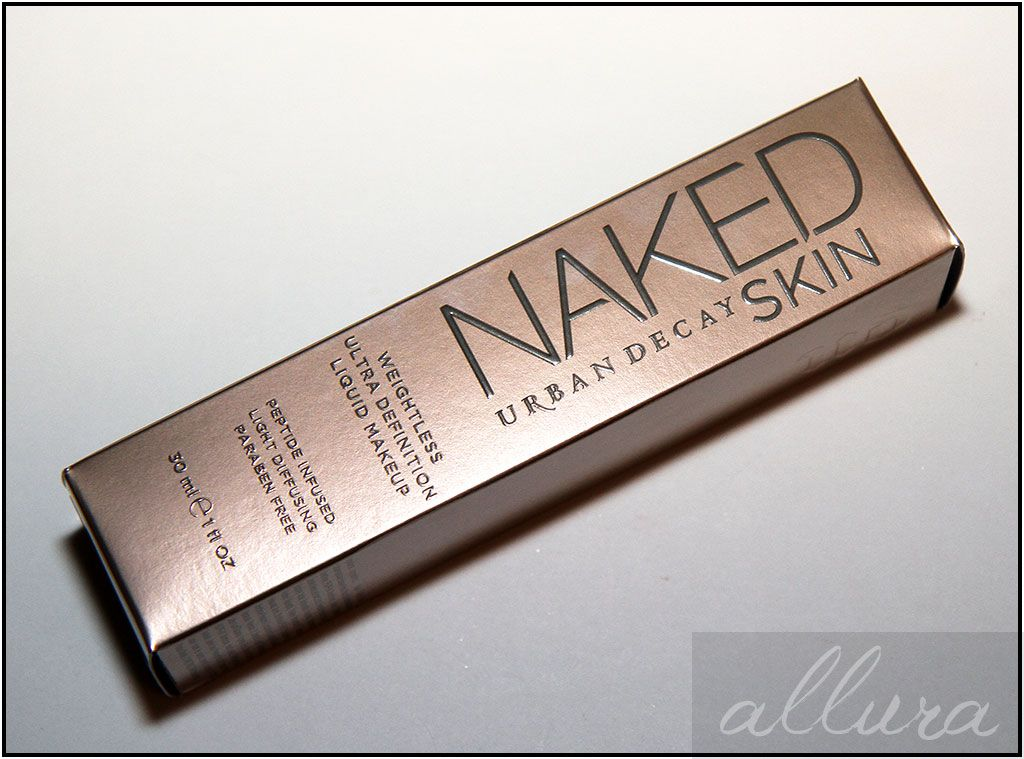 Makeup boxes (Urban Decay Naked-Skin-Weightless-Ultra-Definition-Liquid-Makeup-Foundation-Box-Packaging)