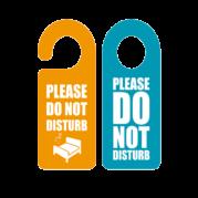 Custom 4 x 9 Door Hangers Printing