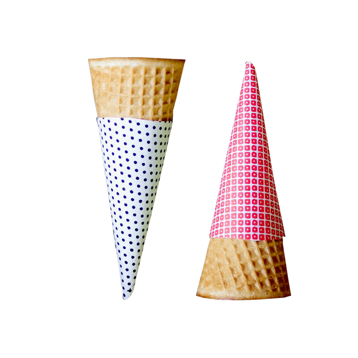 Custom Cone Sleeve | Printed Cone Sleeve Packaging | PlusPrinters