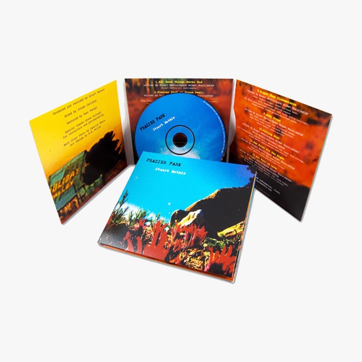 Custom 4 Panel CD / DVD Jackets