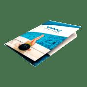 Custom Letter Sized Presentation Folders