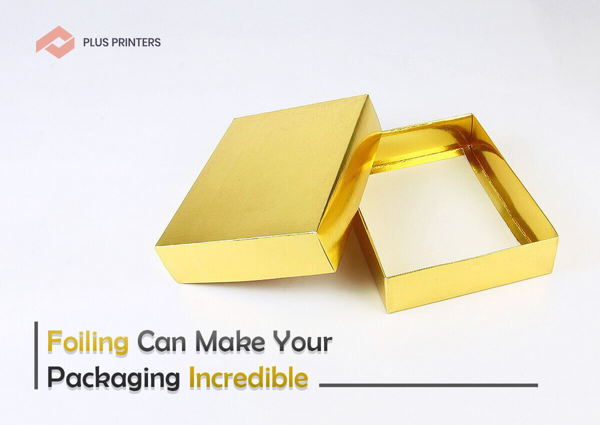 Custom Printed Gold Foiling Boxes