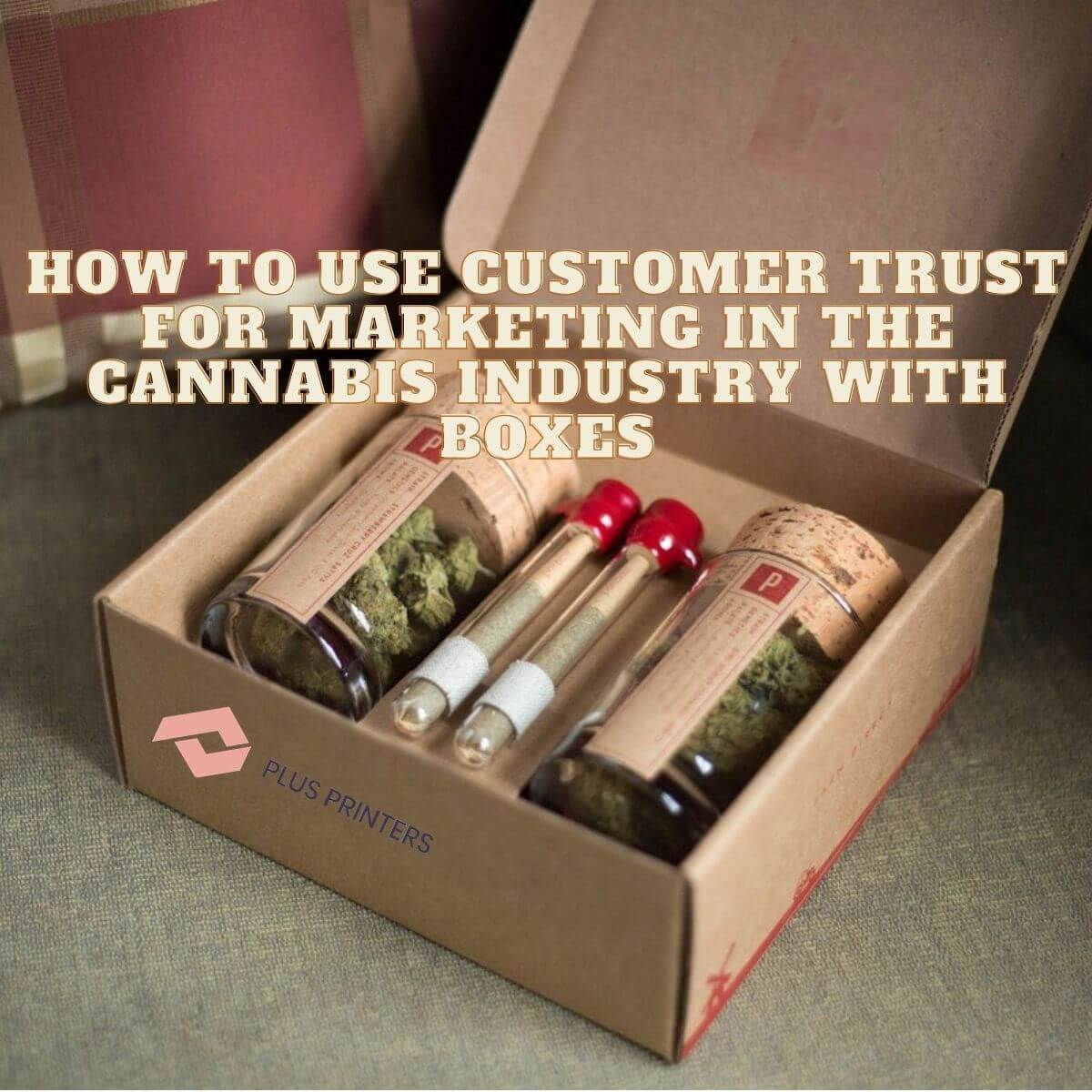 Marketing in the Cannabis Industry with Boxes