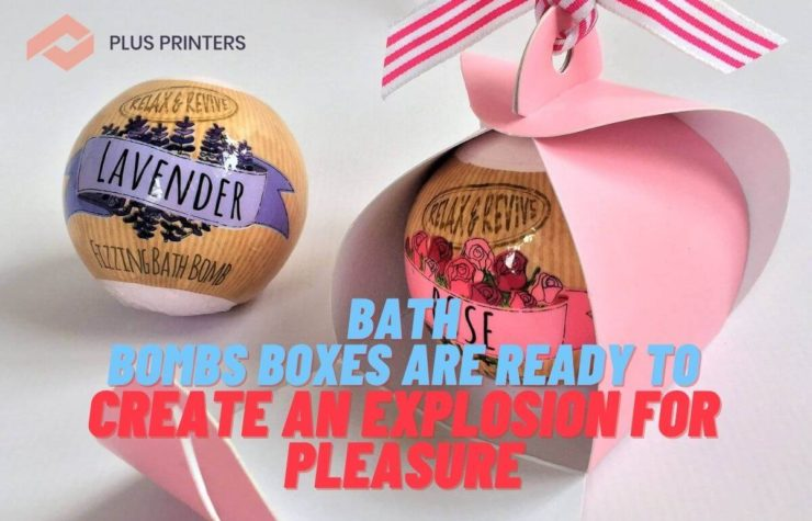 Bath Bombs Boxes Are Ready to Create an Explosion for Pleasure
