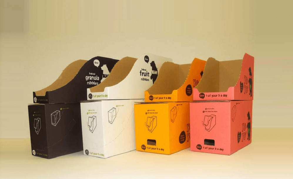 Experience of Shopping with display boxes