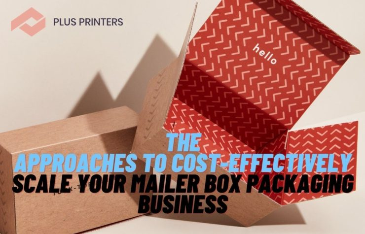 The Approaches to Cost-Effectively Scale Your Mailer Box Packaging Business