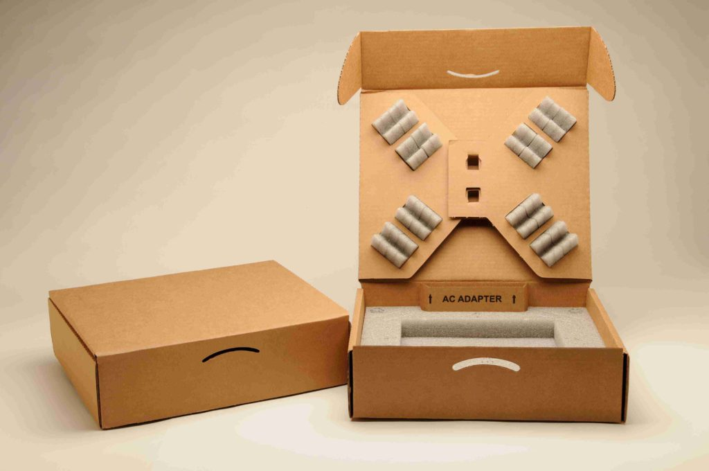 Product-Raising with Chipboard Packaging