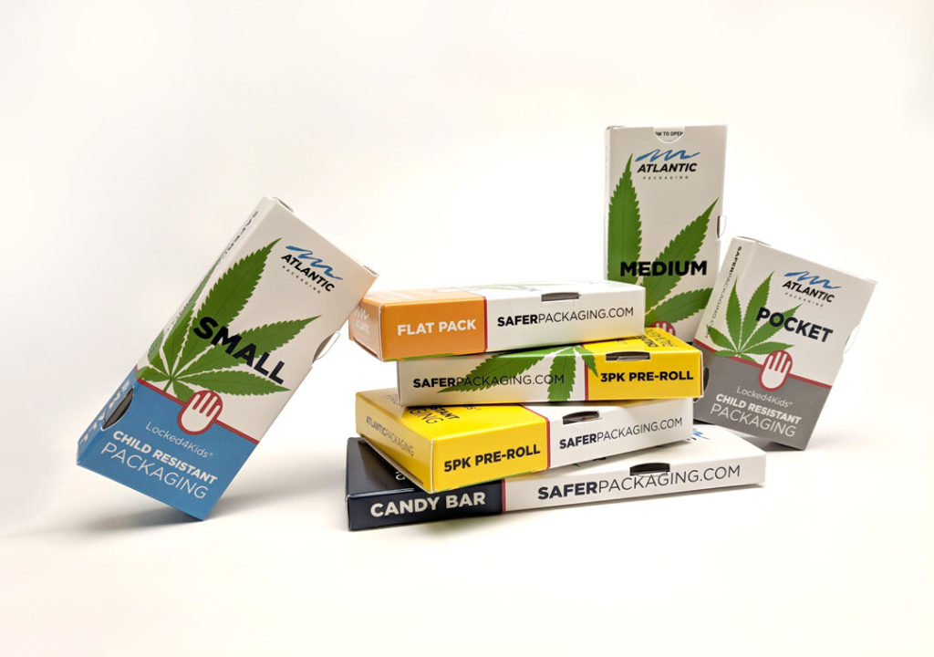 Cannabis Boxes packaging