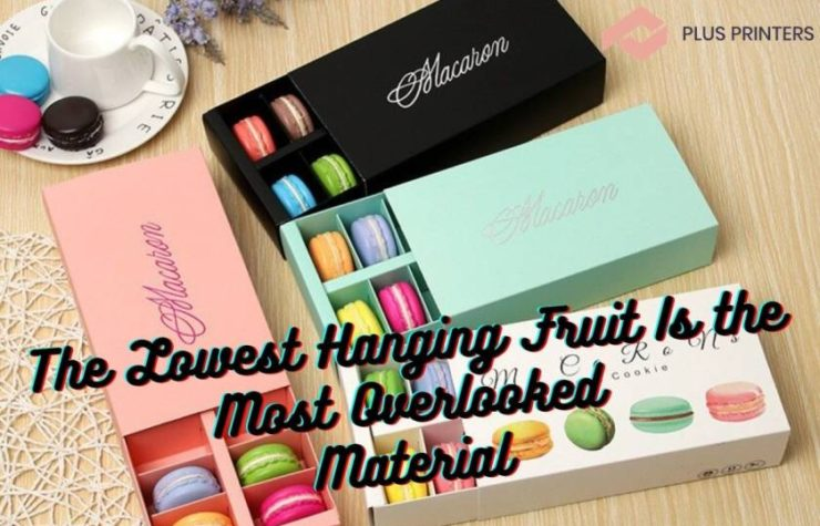 The Lowest Hanging Fruit Is the Most Overlooked Material
