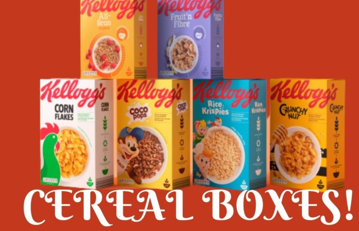 How To Sustain The Groundbreaking Success Of Cereal Boxes In The Market?