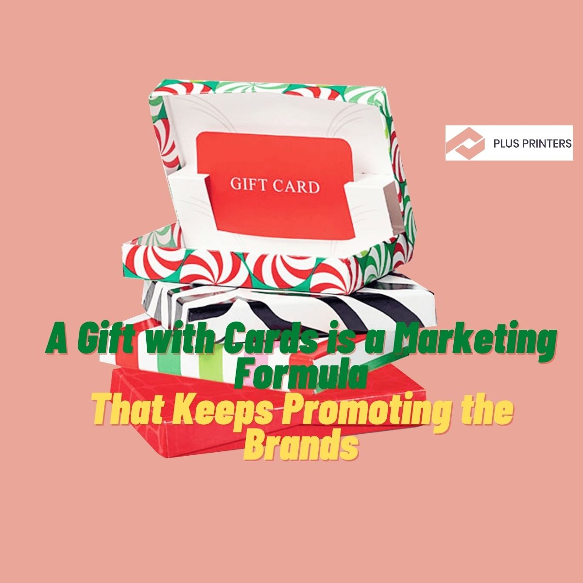 gift cards on your product boxes