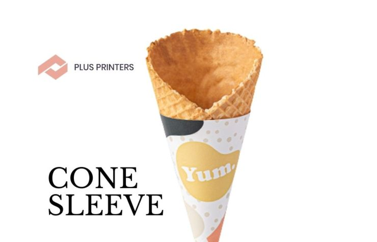 Now Enjoy Your Luscious Ice Cream with The Cone Sleeves