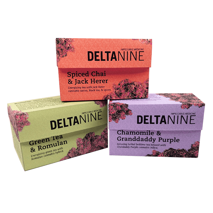 Delta 9 Cannabis Packaging Boxes