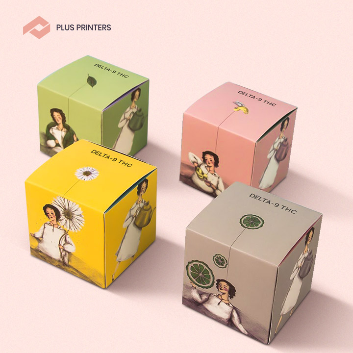 Delta 9 Packaging Boxes by plusprinters pacakging company
