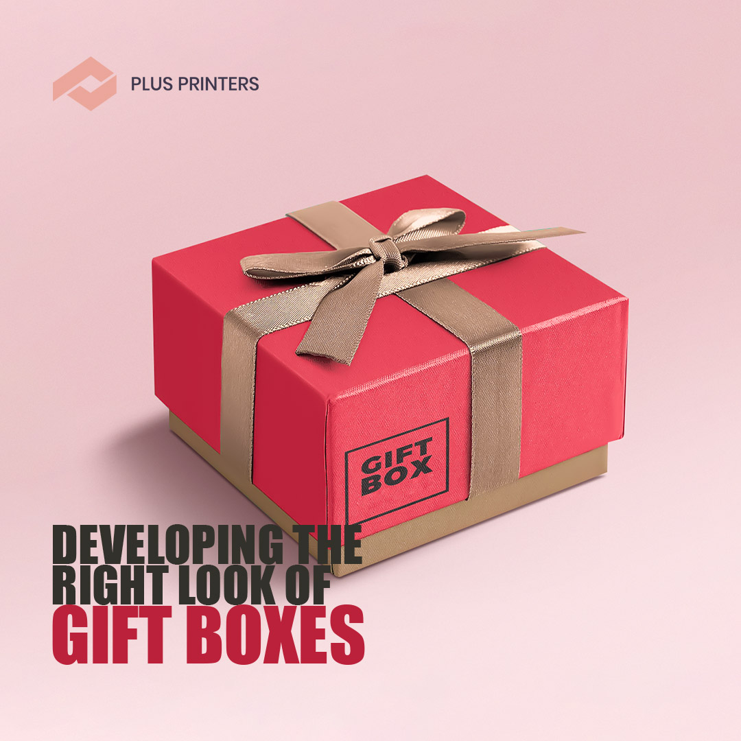 Developing The Right Look of Gift Boxes by USA Packaging Company Plusprinters