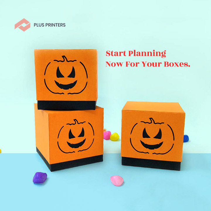 Halloween Gift Boxes by www.plusprinters.com packaging company usa