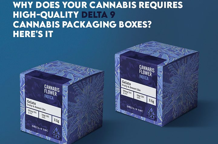 Why Does Your Cannabis Requires High-Quality Delta 9 Cannabis Packaging Boxes? Here's it