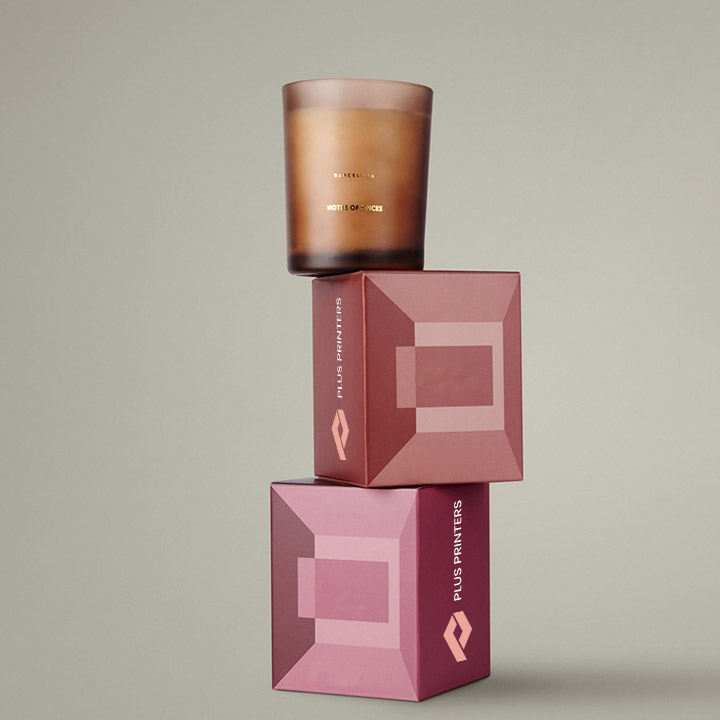 custom designed product packaging boxes by plusprinters