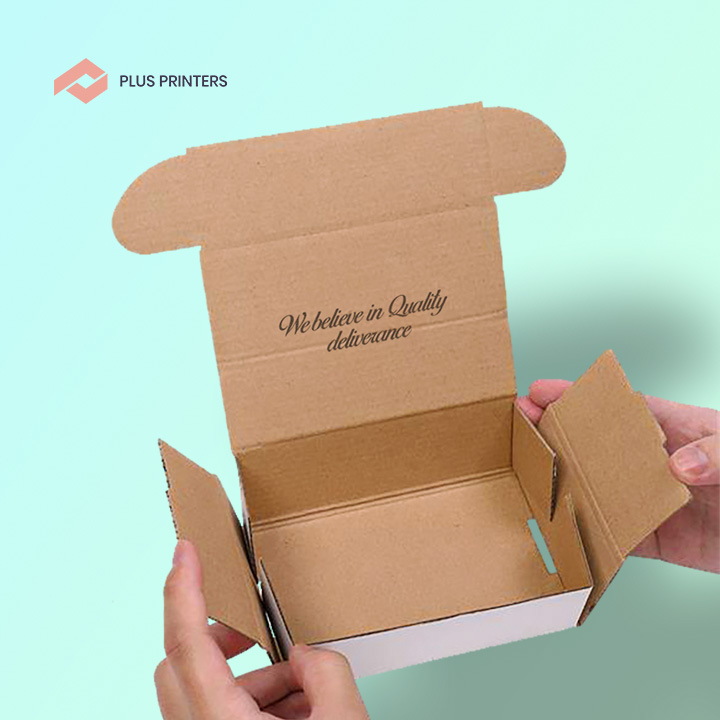 eco friendly custom boxes by plusprinters packaging company in USA