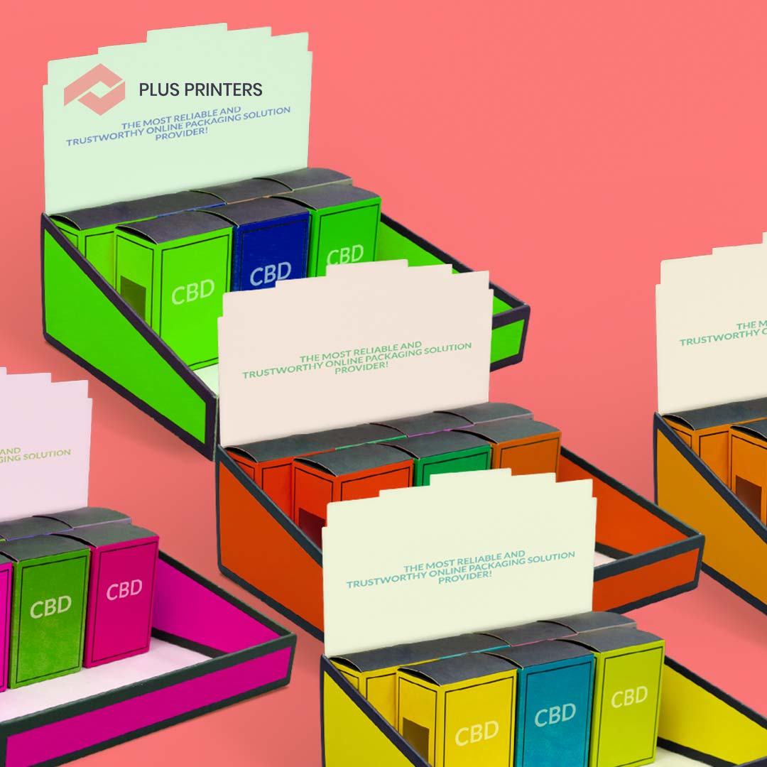 Custom Design Display Boxes by www.plusprinters.com packaging company usa